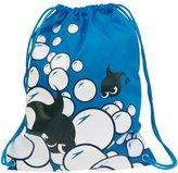 Thinkbay Boys Men PE Sport Swimming Gym Beach Travel Drawstring Backpack Bag Sack