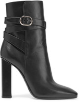 Emilio Pucci Leather ankle boots