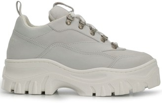 MSGM chunky low-top sneakers
