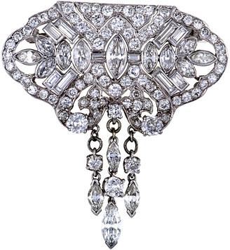 Heritage Platinum 8.50 Ct. Tw. Diamond Brooch