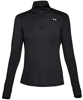 Under Armour Speed Stride Long Sleeve Running Top, Black/Reflective
