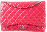 Chanel Glazed Classic Maxi Double Flap Bag