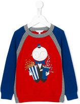 Little Marc Jacobs raglan sleeve sweater - kids - Cotton - 2 yrs