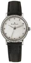 Blancpain Villeret 6102-4628-55 Stainless Steel Diamond Dial 29mm Womens Watch