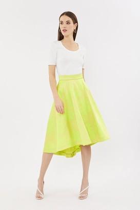 Coast Jacquard Full Midi Skirt