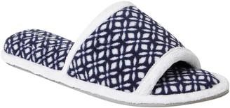 Dearfoams Women's Microfiber Terry Slide Slippers - Beatrice