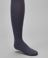 Me Moi Heather Navy Tights - Toddler & Girls