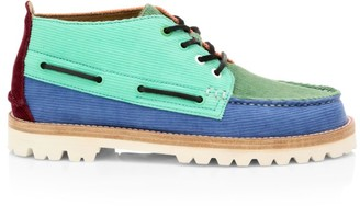 Sperry Cloud Chukka Corduroy Leather Boots
