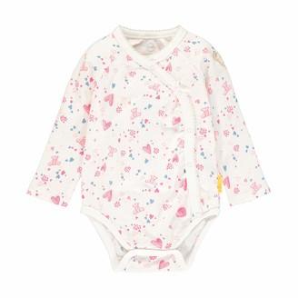 Steiff Baby_Girl's mit Teddybarprint Bodysuit