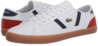 Lacoste Sideline 120 3 (White/Green) Men's Shoes