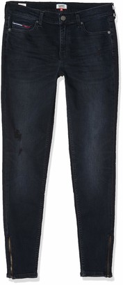 Tommy Jeans Women's MID RISE SKINNY NORA 7/8 ZIP CPT Jeans