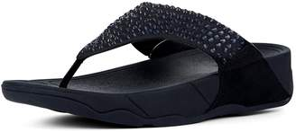 FitFlop Glitzie Imi-Suede Toe-Posts Sandals