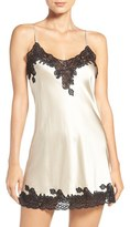 Women's Christine Lingerie Stretch Silk Chemise