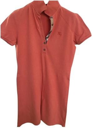 Burberry Orange Cotton Top for Women