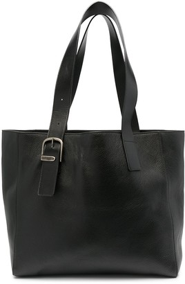 Ann Demeulemeester Leather Tote Bag