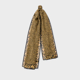 Paul Smith Women's 'Leopard' Print Cashmere-Blend Scarf
