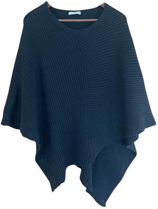 Stefanel Black Wool Knitwear