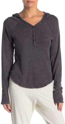 PST by Project Social T Thermal Henley Hoodie