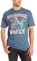 Marvel Men's Group Verbiage Short Sleeve Graphic T-Shirt