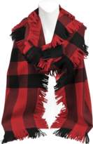 Burberry Half Mega Fashion Fringe scarf 230x25 cm