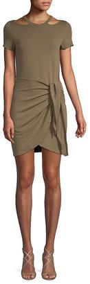 Junie Tie-Waist Shift Dress