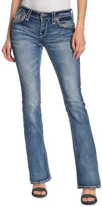 Rock Revival Randi Topstitched Bootcut Jeans