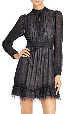 French Connection Dayo Lace Keyhole Dress