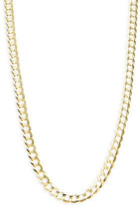 Sphera Milano 14K Yellow Gold Curb Chain Necklace