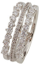 Nadri Cubic Zirconia Faux-Stacked Ring