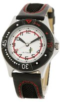 Cactus CAC-26-M01 Boys White dial Black Strap Watch