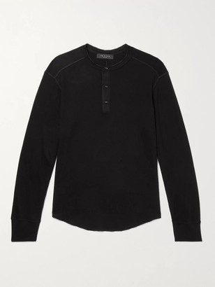 Rag & Bone Gibson Cotton-Jersey Henley T-Shirt
