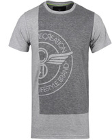 Creative Recreation Novato Mid Grey Marl Crew Neck T-shirt