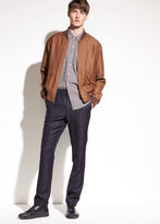Vince Linen and Wool Tapered Trouser