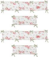 JoJo Designs Sweet Riley's Roses Collection Crib Bumper