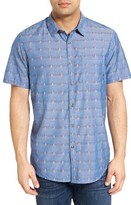 Billabong Men's Traveller Jacquard Woven Shirt