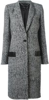 Barbara Bui herringbone pattern coat