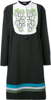 Tomas Maier embroidered bib dress - women - Cotton - 6