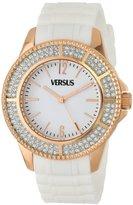 Versus By Versace Women's SGM070013 Tokyo Crystal Analog Display Japanese Quartz White Watch