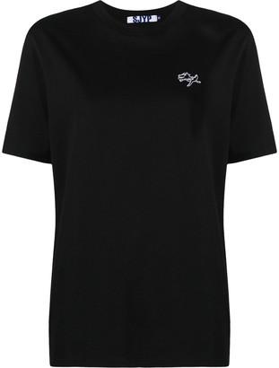 Sjyp Peace Dino cotton t-shirt