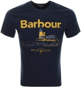 Barbour Padstow T Shirt Navy
