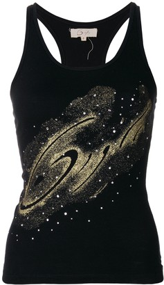 Romeo Gigli Pre-Owned glittery detail tank top