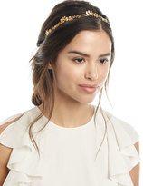 Jennifer Behr Headpieces Gingko Leaf Headband
