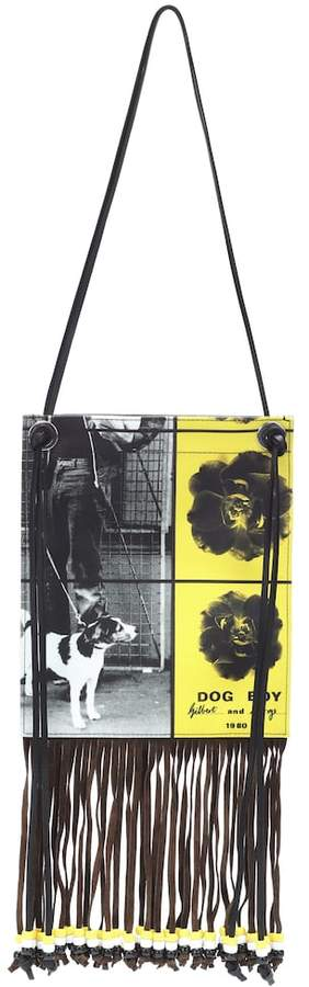 J.W.Anderson Printed canvas shoulder bag