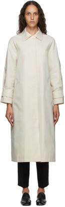 Arch The Off-White Basic Trench Coat