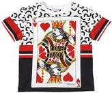 Dolce & Gabbana King Of Hearts Cotton Jersey T-Shirt