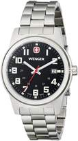 Wenger Men's 72806 Analog Display Swiss Quartz Silver Watch