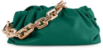 Bottega Veneta Medium The Chain Pouch Leather Clutch