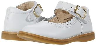 FootMates Allie (Infant/Toddler/Little Kid) (White) Girl's Shoes
