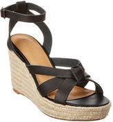 Soludos Charlotte Leather Wedge Sandal