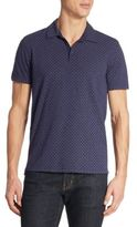 Zachary Prell Mays Geometric Patterned Polo